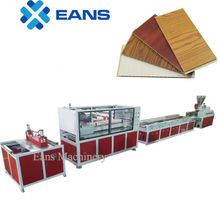 WPC PVC wall panel making machine