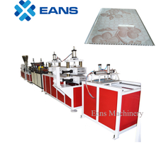 10 inch PVC wall panel making machine plant