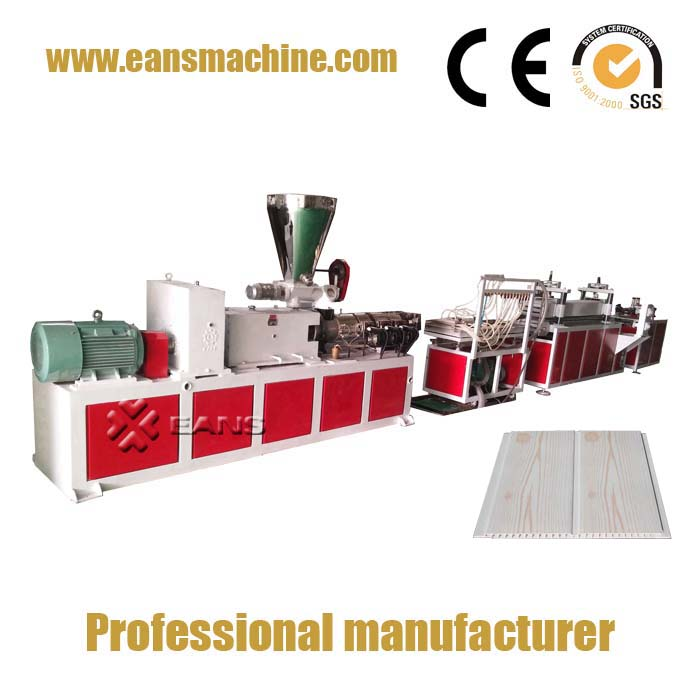 PVC wall panel making machine with complete line
