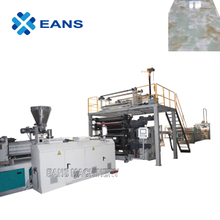 Automatic laminated PVC marble sheet production line with PLC control