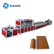 High Standard PVC Skirting Board Profile Making Machine / Production Line